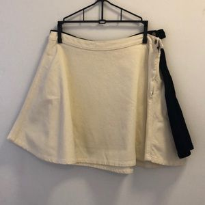 SET OF TWO American Apparel corduroy skater skirts